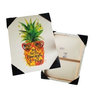 You Are The Pineapple of my Eye Wall Art 19 X 15
